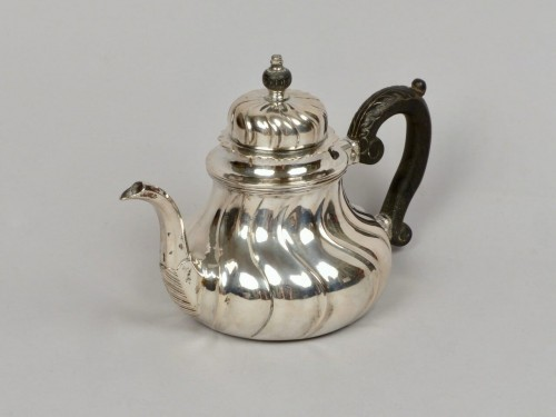 Silver teapot, Cologne (Germany) 1746–1761 - Antique Silver Style Louis XV