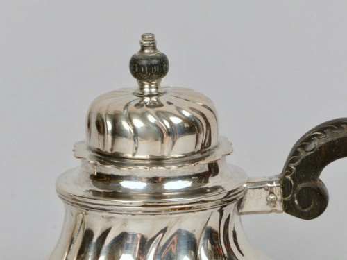 Louis XV - Silver teapot, Cologne (Germany) 1746–1761