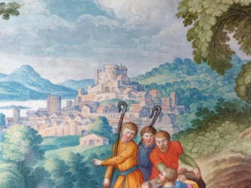 Old Testament Miniature by Friedrich Brentel (1580-1651) -