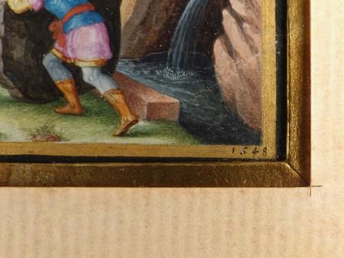 Old Testament Miniature by Friedrich Brentel (1580-1651) - Louis XIII