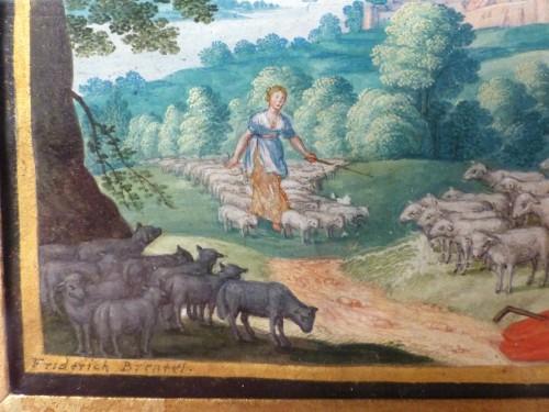 Louis XIII - Old Testament Miniature by Friedrich Brentel (1580-1651)