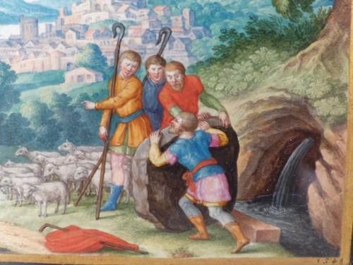 Antiquités - Old Testament Miniature by Friedrich Brentel (1580-1651)