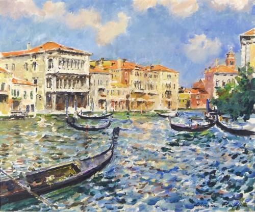 Venice, Lucien Haffen (1888–1968) - view of Venice