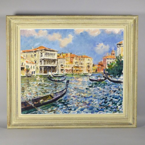 Venice, Lucien Haffen (1888–1968) - view of Venice - Paintings & Drawings Style 50