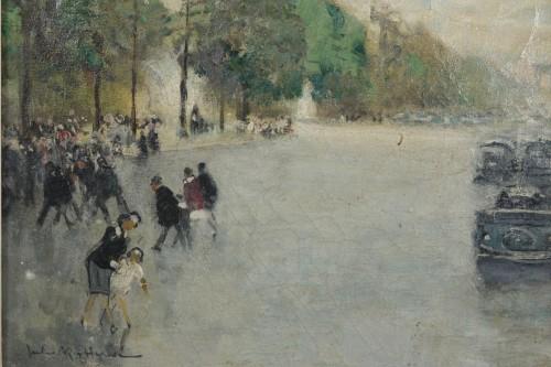 Paintings & Drawings  - Jules René Hervé (1887-1981) - Paris, The avenue des Champs Elysées