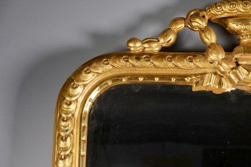Mirrors, Trumeau  - Louis XVI looking glass from Strasbourg