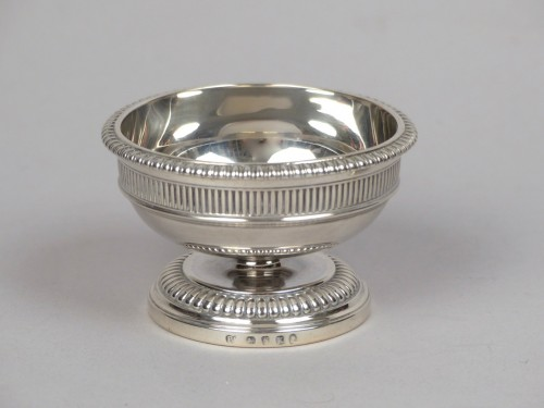 Pair of silver salt cellars, Paul Storr London 1805 - Antique Silver Style Empire