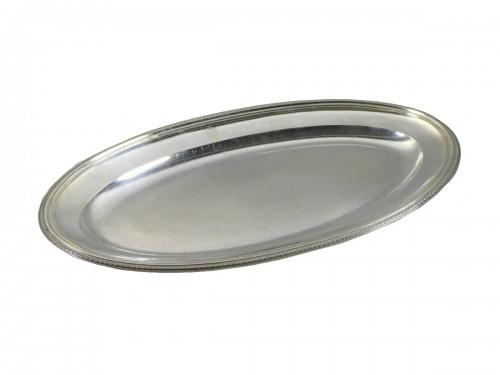 Silver fish platter