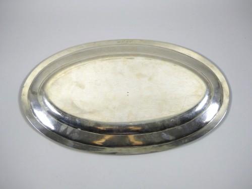 Silver fish platter -