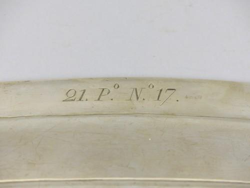 19th century - Silver fish platter
