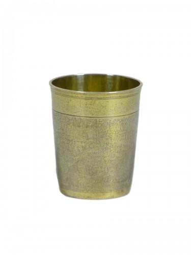 Silver-gilt beaker circa 1700 - Neuchâtel, Switzerland