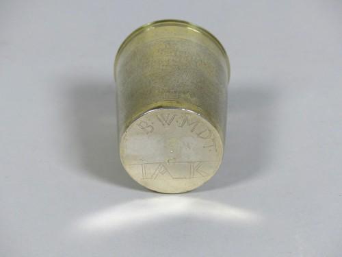 Silver-gilt beaker circa 1700 - Neuchâtel, Switzerland -