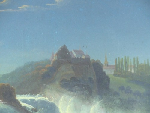 Louis-Philippe - Rhine Falls in the moonlight, circa 1830