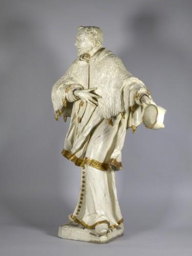 Saint John of Nepomuk, South Germany circa 1750 - Sculpture Style