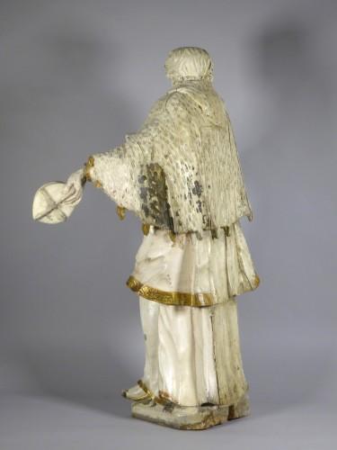 Sculpture  - Saint John of Nepomuk, South Germany circa 1750