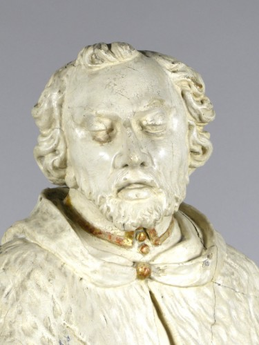 Antiquités - Saint John of Nepomuk, South Germany circa 1750