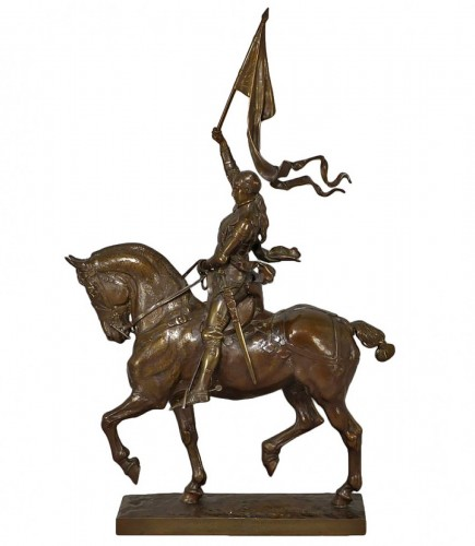 Emmanuel Frémiet (1824-1910) – Jean of Arc