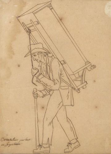 Empire - Street cries, Alsace (?) circa 1810-1820