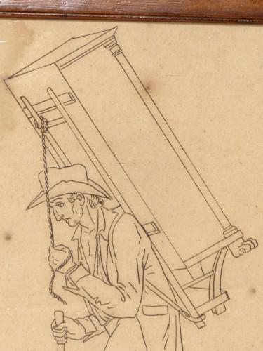 Antiquités - Street cries, Alsace (?) circa 1810-1820
