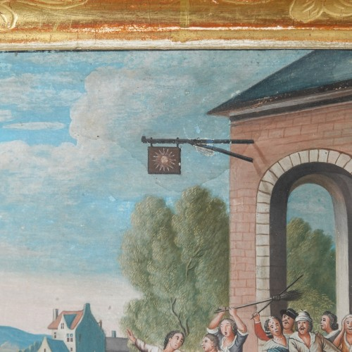 Parable of the Prodigal Son, gouaches 18th century - Louis XV