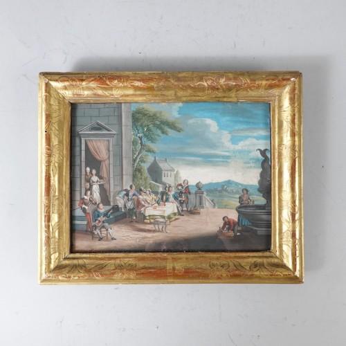 Louis XV - Parable of the Prodigal Son, gouaches 18th century