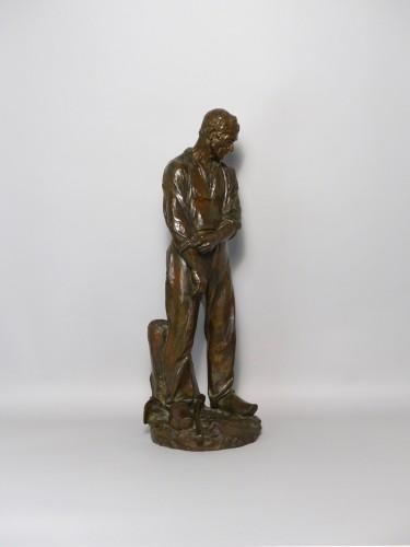 Sculpture  - Aimé Jules Dalou - Le travailleur