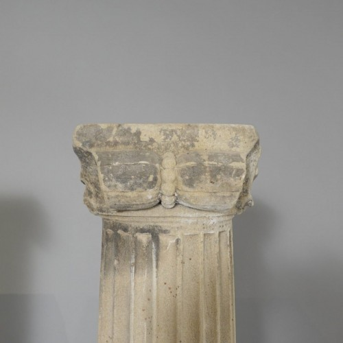 Antiquités - Pair of column in sandstone