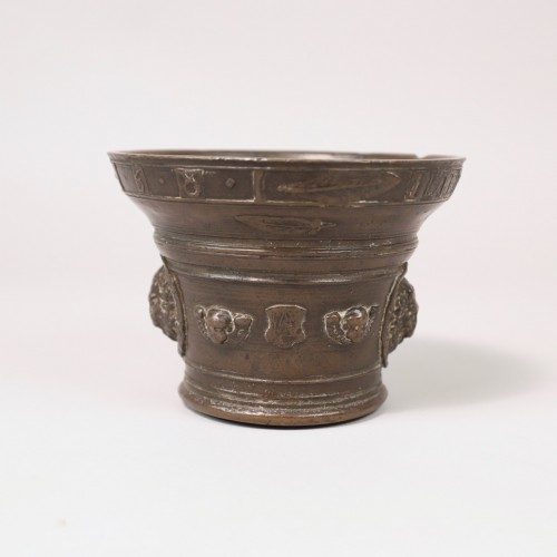<= 16th century - Bronze mortar - 1581