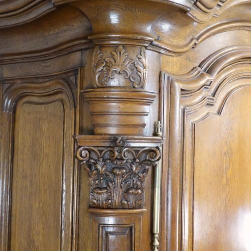 Master piece cabinet made in Strasbourg -
