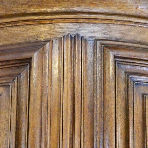 Antiquités - Master piece cabinet made in Strasbourg