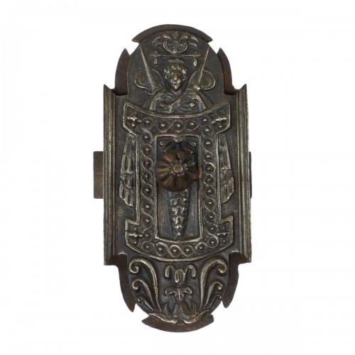 Iron bolt lock, France circa 1550