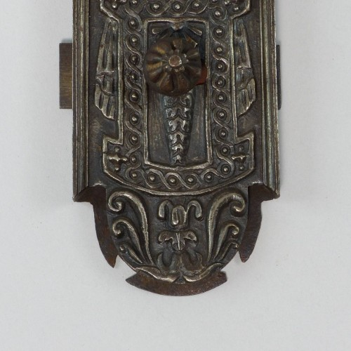 Iron bolt lock, France circa 1550 - Renaissance