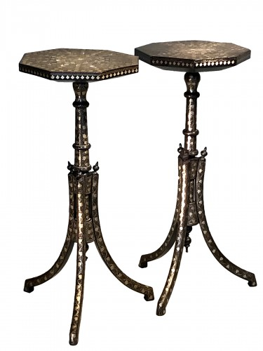 Pair of Ottoman side tables