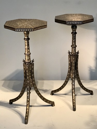 Furniture  - Pair of Ottoman side tables