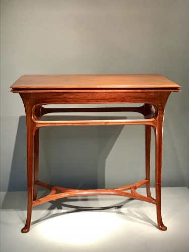 Game table with wallet - Abel Landry (1871-1923) - Furniture Style Art nouveau