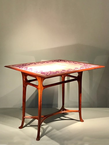 20th century - Game table with wallet - Abel Landry (1871-1923)