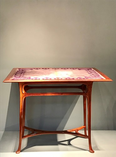 Game table with wallet - Abel Landry (1871-1923) - Art nouveau