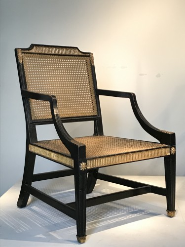 Pair of English armchairs - Seating Style Art Déco