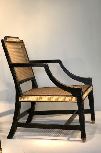 Pair of English armchairs - Art Déco