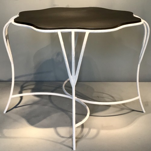 Pair of wrought iron tables - Furniture Style 50
