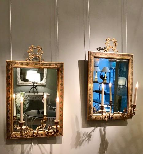 Pair of mirrors - Restauration - Charles X
