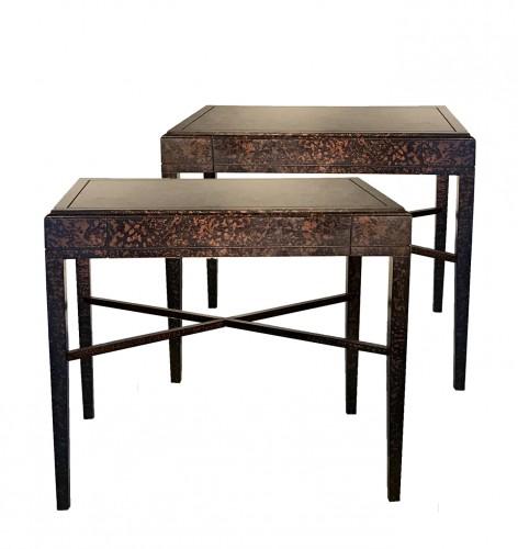 Paire de tables de chevet  - Renzo Mongiardino (1916-1998)