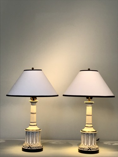 Pair of lamps by Madeleine Castaing - Lighting Style 50