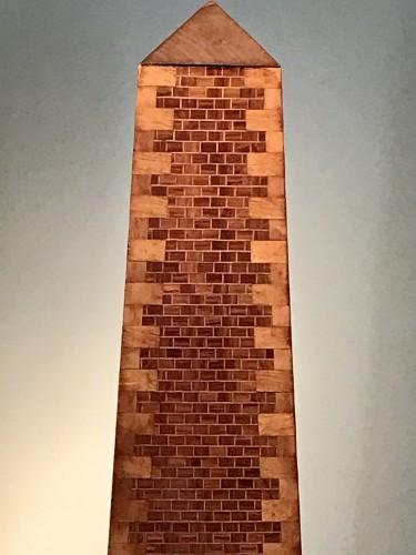 Pair of obelisks -