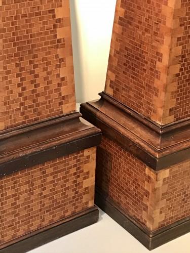Art Déco - Pair of obelisks