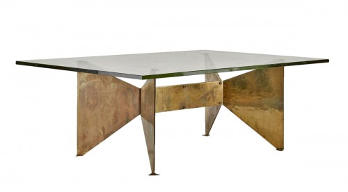 Table sculpture by Georges Addor for circa 1953/54