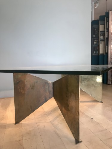 Furniture  - Table sculpture by Georges Addor for circa 1953/54