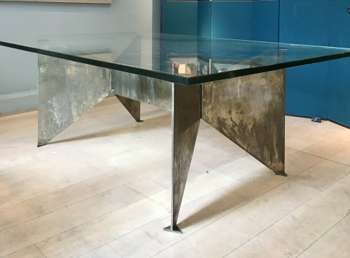Antiquités - Table sculpture by Georges Addor for circa 1953/54