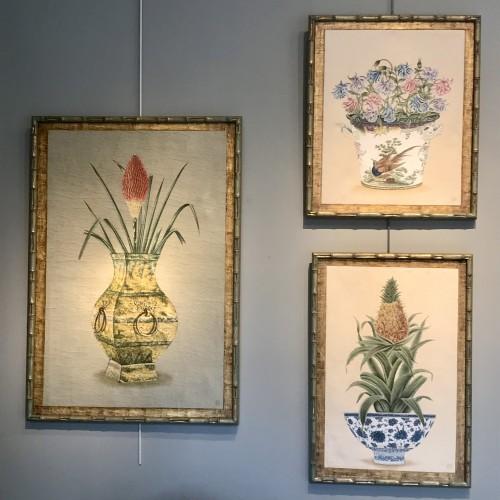 Paintings & Drawings  - Ensemble de toiles peintes