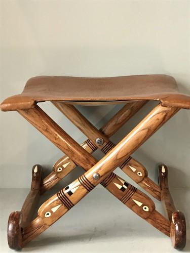Seating  - Neo-egyptian stool.